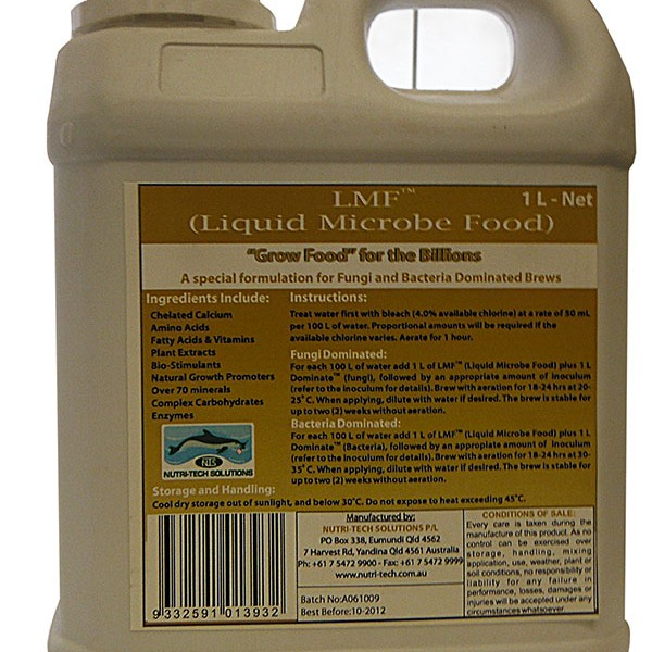Nutri Tech Solutions LIQUID MICROBE FOOD 1LTR