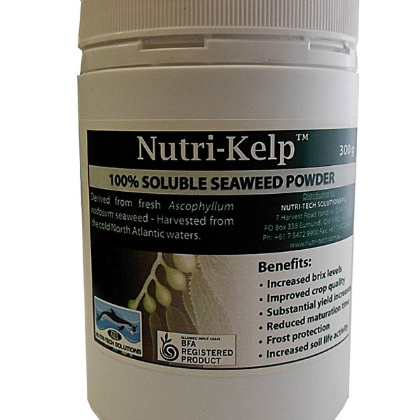 Nutri Tech Solutions NUTRI KELP 300G SEAWEED POWDER