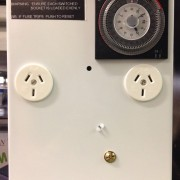 TIMER 10AMP 2 X OUTLET